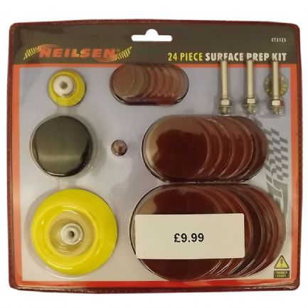 Surface Prep Set 24 Piece